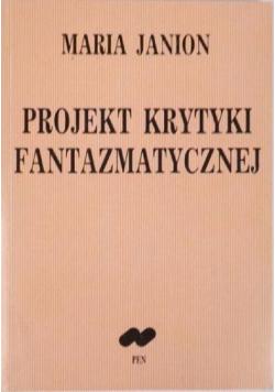 Projekt krytyki fantazmatycznej