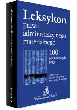 Leksykon prawa administracyjnego materialnego