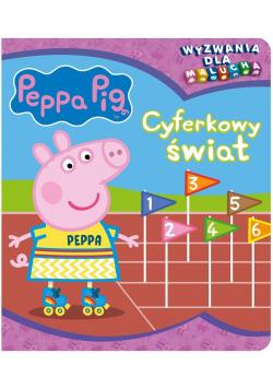 Peppa Pig. Wyzwania dla malucha. Cyferkowy świat