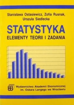 Statystyka. Elementy teorii i zadania