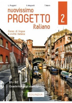 Progetto italiano Nuovissimo 2 ćw. + 2 CD B1-B2