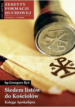 Zeszyty Formacji Duchowej nr 71 Siedem listów...