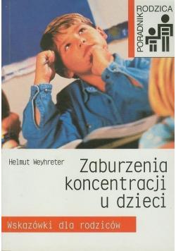 Zaburzenia koncentracji u dzieci