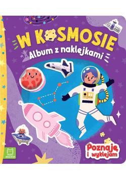 Album z naklejkami. W kosmosie