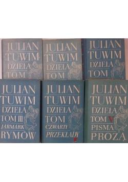 Tuwim Dzieła 6 tomów
