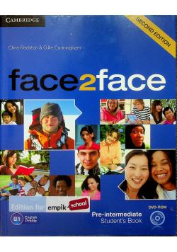 Face2face Pre-intermediate Students's Book