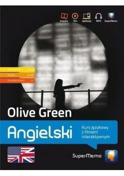 Olive Green Angielski kurs językowy z filmem interaktywnym