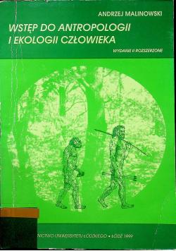Wstęp do antropologii i ekologii człowieka