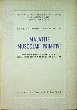 Malattie Muscolari Primitive