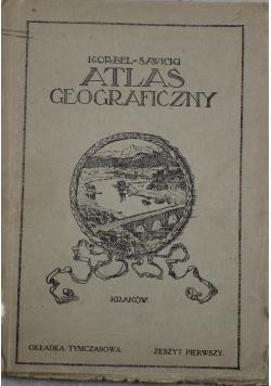 Atlas geograficzny zeszyt pierwszy 1922 r.