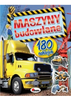 Maszyny budowlane - 180 naklejek
