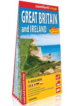 Comfort! map Wielka Brytania i Irlandia 1:950 000