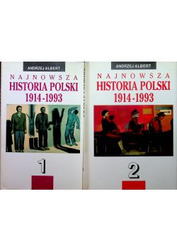 Najnowsza Historia Polski 1914 - 1993 Tom I i II