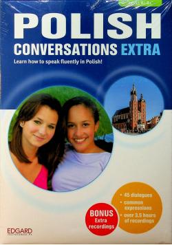 Polish conversations extra książka plus 3 CD