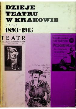 Dzieje teatru w Krakowie w latach 1839 1915 tom 5 cz II
