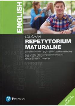 Repetytorium maturalne Język angielski Podręcznik wieloletni Poziom rozszerzony plus CD