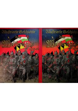 Illustrierte Geschichte des Weltkrieges 1914 16 2 tomy