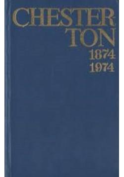 Chesterton 1874 1974 pisma wybrane