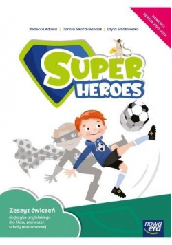 J. Angielski SP 1 Super Heroes ćw. NE w.2020