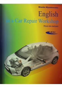 English in a Car Repair Workshop Podręcznik i klucz do ćwiczeń plus 2 CD