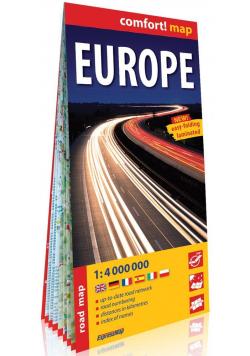 Comfort! map Europa (Europe) 1:4 000 000