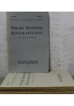Polski słownik biograficzny Zeszyt od 92 do 95
