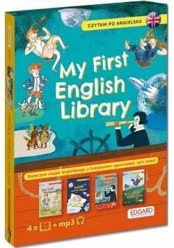 Pakiet: My First English Library. Czytam po ang.