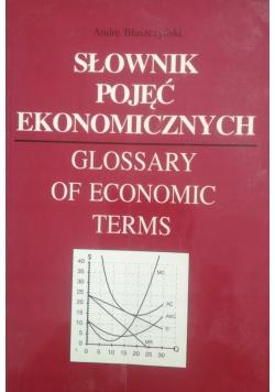 Słownik pojęć ekonomicznych