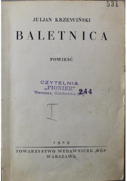 Baletnica 1929r