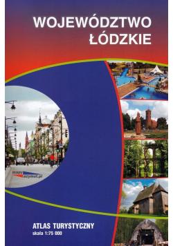Województwo Łódzkie atlas turystyczny, 1:75 000