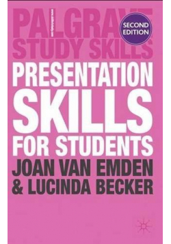 Presentation Skills for Students