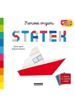 Statek. Akademia mądrego dziecka. Pierwsze origami