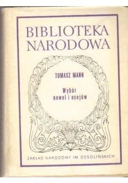 Tomasz Mann wybór nowel i esejów