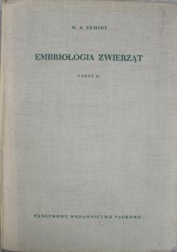 Embriologia zwierząt Część II