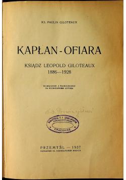 Kapłan Ofiara 1937 r