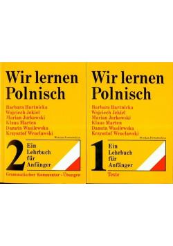 Wir lernen Polnisch 2 tomy