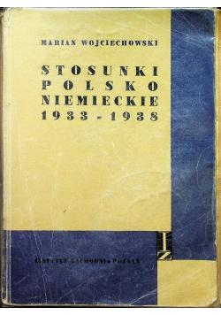 Stosunki polsko niemieckie 1933 1938
