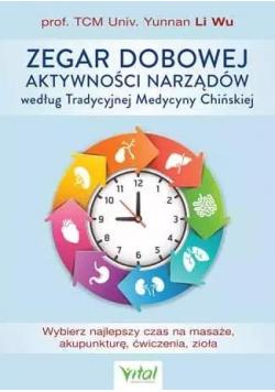 Zegar dobowej aktywności narządów...