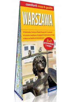 Warszawa 2w1: przewodnik i mapa