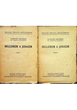 Hellenizm a judaizm część I i II 1927 r.