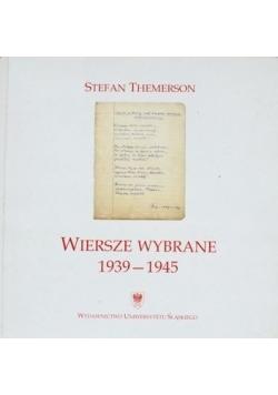 Themerson Wiersze  wybrane 1939 - 1945