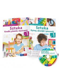 Owocna Edukacja. Sztuka kl. 1 Pakiet + CD MAC