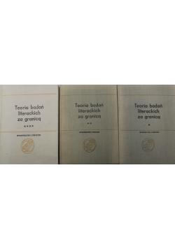 Współczesna teoria badań literackich za granicą 3 tomy