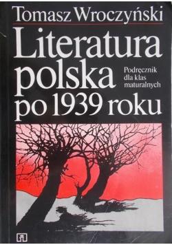 Literatura polska po 1939 roku