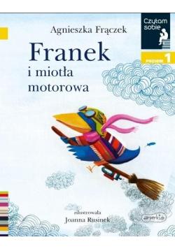 Czytam sobie. Franek i miotła motorowa. Poziom 1