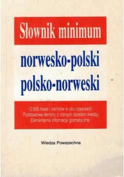 Słownik minimum norwesko polski polsko norweski