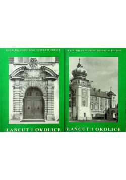 Katalog zabytków sztuki w Polsce Łańcut i okolice 2 tomy