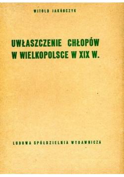 Uwłaszczenie chłopów w Wielkopolsce w XIX w
