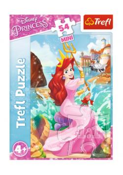 Puzzle 54 mini Przygody księżniczek 2 TREFL