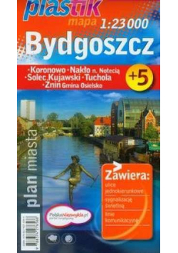 Plan Miasta Bydgoszcz plastik   DEMART